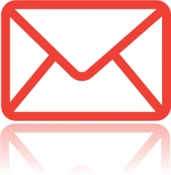Message Clipart Mail Symbol - Envelope Red Icon - Png ...