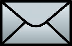 C Schmitz Closed Envelope Clip Art at Clker.com - vector ...
