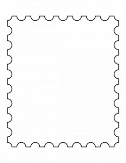 28+ Collection of Postage Stamp Clipart Free | High quality, free ...
