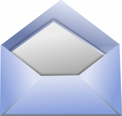 Open Envelope Clip Art at Clker.com - vector clip art online ...