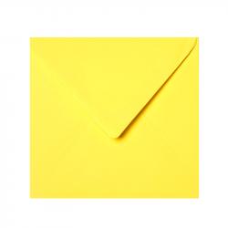 Square large tissue lined envelope yellow - Square envelope ...