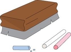 And Eraser Clipart with Blackboard Duster Clipart » Clipart ...