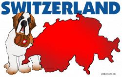 Europe Clip Art by Phillip Martin, Switzerland