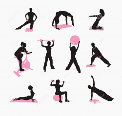 Exercise workout clip art clipart image 4 - Clip Art Library