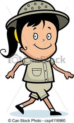 Cartoon Explorer Clipart