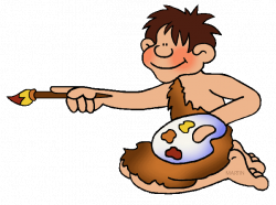 Free Early Humans Clip Art by Phillip Martin, Cave Painting ...