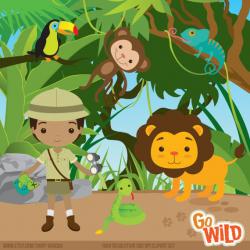 Jungle Explorer Cliparts - Cliparts Zone