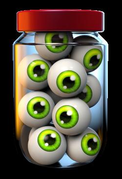 Halloween Jar of Eyeballs PNG Clipart Image | Gallery Yopriceville ...