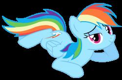 1408214 - artist:mihaynoms, bedroom eyes, lying, pegasus, pony ...