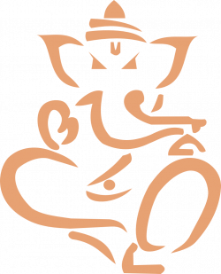 clipartist.net » Clip Art » lord ganesha yoga ganesh super duper SVG