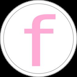 Pink Facebook Icon Clip Art at Clker.com - vector clip art online ...
