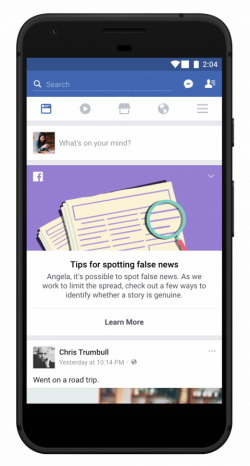 Facebook will now teach you how to spot fake news - Business Insider