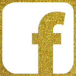Facebook Icon, Vector, Gold Color Glitter PNG and Vector for Free ...