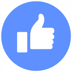 Facebook like sign clipart png logo #5787 - Free Transparent PNG Logos