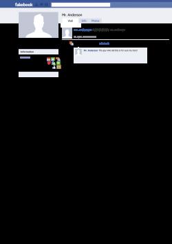 Clipart - Facebook/fakebook Template