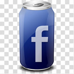 Drink Web Icon , Facebook-themed can transparent background ...