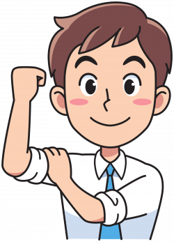 Clipart - Business man - strong