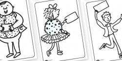 Charlie and the Chocolate Factory Colouring Pages. Free ...