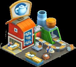 Kitchenware Factory | Township Wiki | FANDOM powered by Wikia
