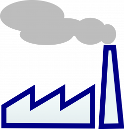 28+ Collection of Factory Chimney Clipart | High quality, free ...