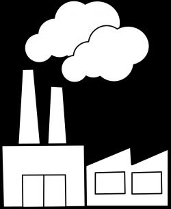Public Domain Clip Art Image | Illustration of a factory | ID ...