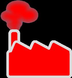 Red Factory Clip Art at Clker.com - vector clip art online, royalty ...