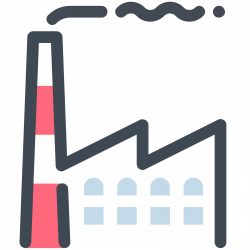 Factory Icon - free download, PNG and vector