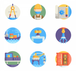 Factory Icons - 4,015 free vector icons