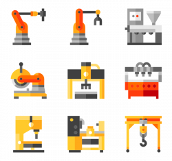 15 machinery icon packs - Vector icon packs - SVG, PSD, PNG, EPS ...