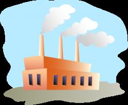 Public Domain Clip Art Image | Factory | ID: 13525908011871 ...