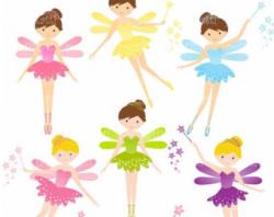 Cute fairy clipart | Etsy