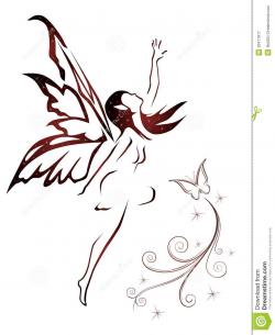 Pin by Jovanna on tattoos | Fairy tattoo designs, Small ...