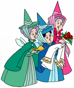 Flora, Fauna and Merryweather Clip Art | Disney Clip Art Galore