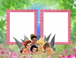 Kids Transparent Frame with TinkerBell Fairies | Gallery ...