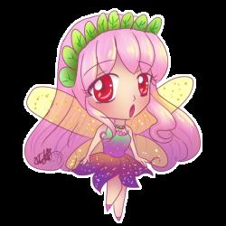 Chibi Pink hair fairy by Koti-R on DeviantArt