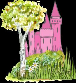 Clipart - Fairytale Castle