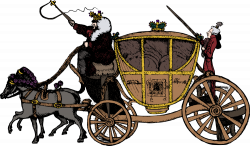 OnlineLabels Clip Art - Fairy Tale Carriage