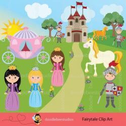 Princess Clipart, Fairytale Clipart, Princess Clip Art ...