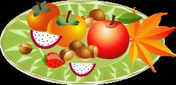 Autumn Fruit Illustration - Autumn harvest fruit 3474*1692 ...