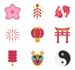 Chinese new year Icons - 270 free vector icons