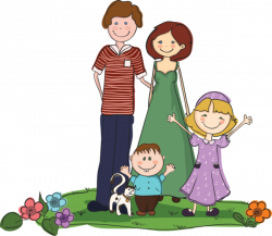 personnages, illustration, individu, personne, gens | family ...