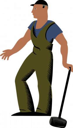 Clipart - Worker 3