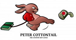 1935 - Peter Cottontail by BoscoloAndrea on DeviantArt