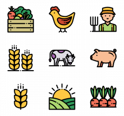 Agriculture Icons - 238 free vector icons