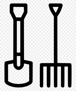 Clipart Royalty Free Shovel Agriculture Garden Tools ...