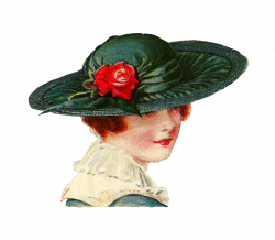 Antique Images: Free Fashion Clip Art: 2 Vintage Fashion Graphics ...