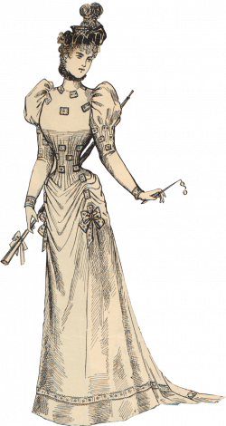 Free Scrapbook Graphics: Vintage Victorian Woman   Free Graphics ...