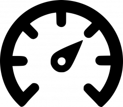 Speed Meter Outline Svg Png Icon Free Download (#537144 ...