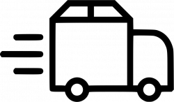 Truck Delivery Shipping Van Fast Package Svg Png Icon Free Download ...