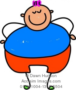 fat child clipart & stock photography   Acclaim Images